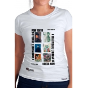 Camiseta Branca Inimiga do Bom Senso