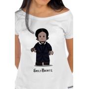 Camiseta Branca Lego Emily Bronte