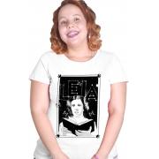 Camiseta Branca Leia