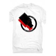 Camiseta Branca Leitor Antifascista