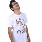 Camiseta Branca Leminski-se