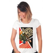 Camiseta Branca Lenin