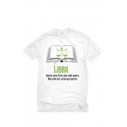 Camiseta Branca Librianos leitores