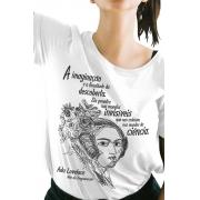 Camiseta Branca Lovelace, Mãe da Programação