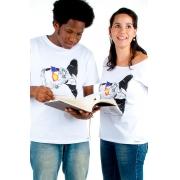 Camiseta Branca Machado de Assis