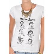 Camiseta Branca Mães dos Saberes