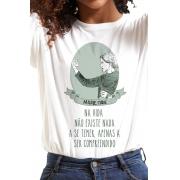 Camiseta Branca Marie Curie