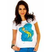 Camiseta Branca Mel Fronckwiak