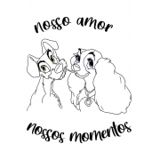 Camiseta Branca Nossos Momentos