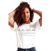 Camiseta Branca O que é Feminismo?