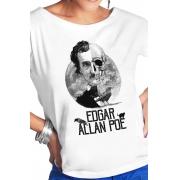 Camiseta Branca Os mistérios de Poe