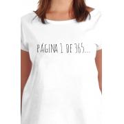 Camiseta Branca Página 1 do ano da Paz