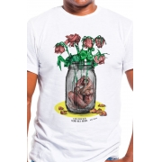 Camiseta Branca Pálida Razão