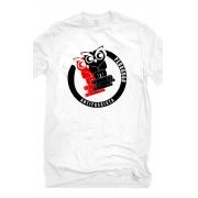 Camiseta Branca Pedagoga Antifascista