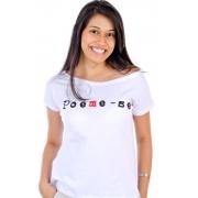 Camiseta Branca Poeme-se