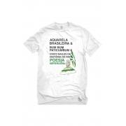 Camiseta Branca Poesia Imperiana