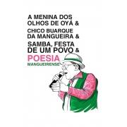 Camiseta Branca Poesia Mangueirense