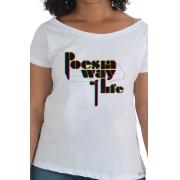 Camiseta Branca Poesia Way Of Life