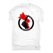 Camiseta Branca Poeta Antifascista
