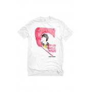 Camiseta Branca Respeito também é magia