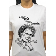 Camiseta Branca Rosalind, Mãe do DNA