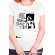 Camiseta Branca Ser Fera
