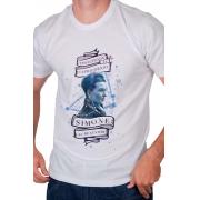 Camiseta Branca Simone de Beauvoir: A Tenacidade de Capricórnio