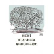Camiseta Branca Sumi-ê: Albert Camus