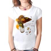 Camiseta Branca Victor Hugo