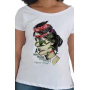 Camiseta Branca Virginia Woolf