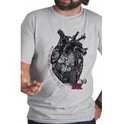 Camiseta Cinza Amor segundo Bukowski