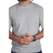 Camiseta Cinza Básica