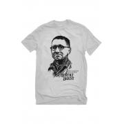 Camiseta Cinza Brecht Herói