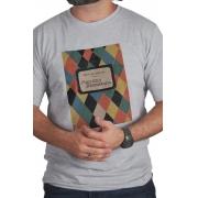 Camiseta Cinza Capa do Livro Paulicea Desvairada