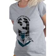 Camiseta Cinza Clube da Leitura Noturna