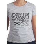 Camiseta Cinza Drummond-se