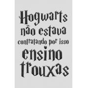 Camiseta Cinza Ensino Trouxas