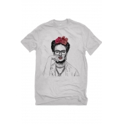 Camiseta Cinza Frida Hipster