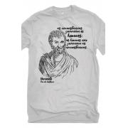 Camiseta Cinza Heródoto, pai da história