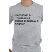 Camiseta Cinza Historiadores Helvética