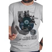 Camiseta Cinza Intertexto de Bertolt Brecht