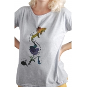 Camiseta Cinza Ismália