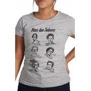 Camiseta Cinza Mães dos Saberes