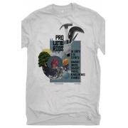 Camiseta Cinza Maiakóvski de corpo e espírito