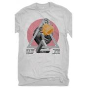 Camiseta Cinza Máquinas de Friedrich Engels