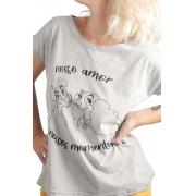Camiseta Cinza Nossos Momentos