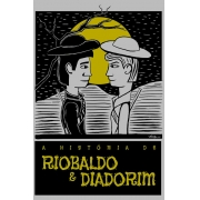 Camiseta Cinza O Amor em Cordel: Riobaldo e Diadorim