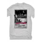 Camiseta Cinza O Amor em Cordel: Vicky, Cristina e Juan