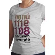 Camiseta Cinza Pitágoras