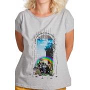 Camiseta Cinza Platão